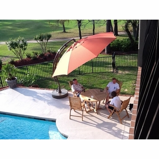 SunGarden Cantilever Umbrellas - click to enlarge