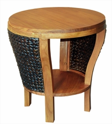 Waxed Teak Kreta Side Table
