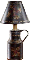 """8"""" Canister Toile Lamp"""