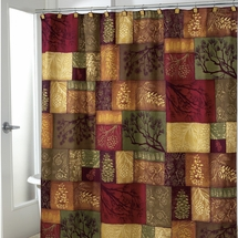 Adirondack Pine Shower Curtain & Accessories