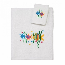 Aegean Tropical Fish Kids Towel Set by Avanti Linens