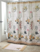 Alana Fabric Shower Curtain by Avanti Linens