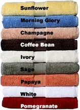 All American 100% Pima Cotton Towels By Homestead Textiles