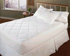 ALLERGY REDUCTION Mattress Pad with Stain Release