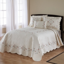 Amber Cotton  Bedspread by Nostalgia Home
