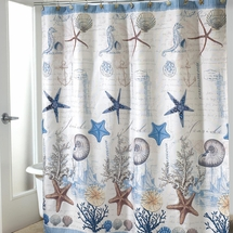 Antigua Shower Curtain & Accessories by Avanti