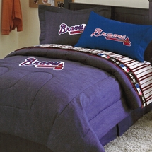 Atlanta Braves Twin Bedding