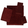 Avanti Solid Color Velour Towels-Brick