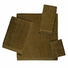 Avanti Solid Color Velour Towels-Copper
