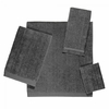 Avanti Solid Color Velour Towels-Granite
