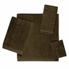 Avanti Solid Color Velour Towels-Mocha