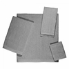 Avanti Solid Color Velour Towels-Nickel