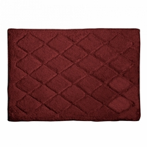 Avanti Splendor Solid Color Bath Rug-Brick
