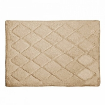 Avanti Splendor Solid Color Bath Rug-Linen