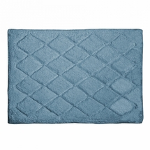 Avanti Splendor Solid Color Bath Rug-Mineral