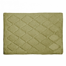 Avanti Splendor Solid Color Bath Rug-Sage
