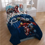 "Avengers ""Earth's Mightiest Heroes"" Kids Bedding"