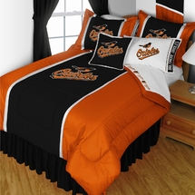 Baltimore Orioles Bedding-Sidelines