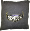 "Baltimore Ravens 18"" Denim Pillow"