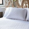 Bamboo Quilted Brick Coverlet Set  By Caro Home<br>FREE SHIPPING