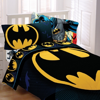 """Batman """"From The Rooftop"""" Kids Bedding"""