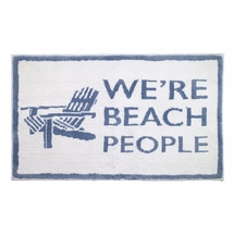 Beach Words Bathroom Rug by Avanti