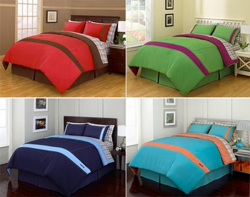 Complete Bed Ensembles Beverly Hills Polo Club Comforter Sets