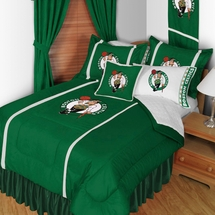 Boston Celtics Sidelines NBA Basketball Bedding