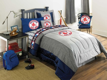 Boston Red Sox Authentic Bedding For Kids Teens Everyone