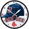 "Boston Red Sox ""Cap"" Clock"