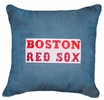 "Boston Red Sox Denim 18"" Square Pillow"