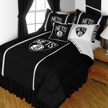 Brooklyn Nets Sidelines NBA Basketball Bedding