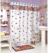BUTTERFLY GARDEN Shower Curtain & Accessories