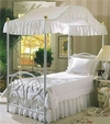 Canopy Classic White Eyelet Queen Size