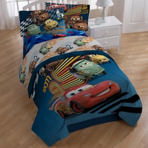 Cars 2  Grand Prix Kids Bedding