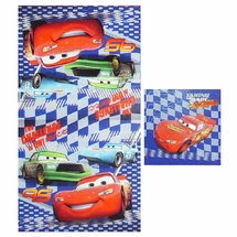 Cars Challenge 2 Piece Towel Set