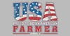 Case Beach Towel-USA Farmer