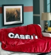 Case IH Micro Raschel Throw