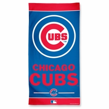 "Chicago Cubs  100% Cotton Beach Towel  30"" x 60"""