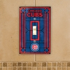 Chicago Cubs Switch Plate