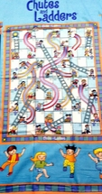 Chutes & Ladders Beach Towel-100% Cotton