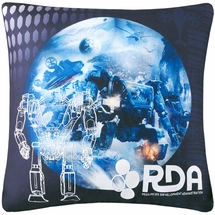 "Classic Avatar 16"" Square Decorative Pillow"