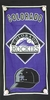 Colorado Rockies Cap Series Beach Towel
