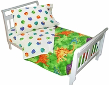 Crayola DINOSAUR Toddler Bedding Set