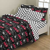 Dale Earnhardt Twin Comforter #8 Black