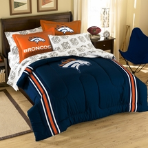 Denver Broncos NFL Bed In A Bag Set-Full Size
