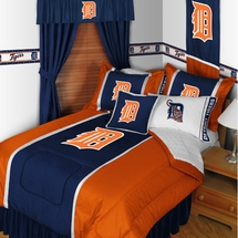 Detroit Tigers Sidelines Bedding