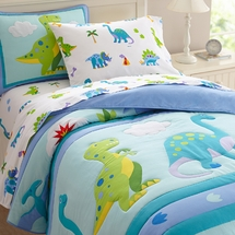 Dinosaur Land Bedding by Olive Kids