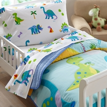Dinosaur Land Toddler Bedding by Olive Kids