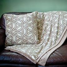 Divine Verve Fleece Throws and Decorative Pillows